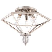 Savoy House 6-682-5-109 Tekoa 5 Light 23 inch Polished Nickel Flush Mount Ceiling Light