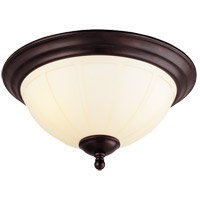 Savoy House Vanguard 3 Light Flush Mount in English Bronze 6-6905-15-13