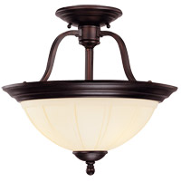 Savoy House Vanguard 3 Light Semi-Flush in English Bronze 6-6906-3-13 photo thumbnail