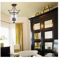 Savoy House 6-7133-3-13 Trudy 3 Light 12 inch English Bronze Semi-Flush Mount Ceiling Light alternative photo thumbnail