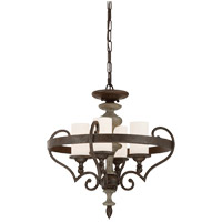 Savoy House Strathmore 4 Light Semi-Flush in Century Bronze 6-743-4-09