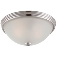 6-780-11-109 Savoy House Savoy House 2 Light 11 inch Polished Nickel Flush Mount Ceiling Light
