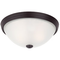 Savoy House Signature 2 Light Flush Mount in English Bronze 6-780-11-13