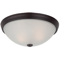 Savoy House 6-780-13-13 Flush Mount 2 Light 13 inch English Bronze Flush Mount Ceiling Light in 13 in.