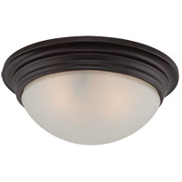 6-782-11-13 Savoy House Savoy House 2 Light 11 inch English Bronze Flush Mount Ceiling Light in 11 in.