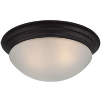 Signature 2 Light 13 inch English Bronze Flush Mount Ceiling Light