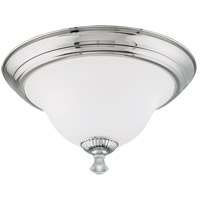Savoy House Jemmy 3 Light Flush Mount in Polished Nickel 6-8004-15-109