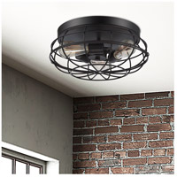 Savoy House 6-8074-15-13 Scout 3 Light 15 inch English Bronze Flush Mount Ceiling Light alternative photo thumbnail