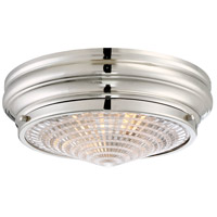 Savoy House 6-9069-13-109 Benton 2 Light 13 inch Polished Nickel Flush Mount Ceiling Light