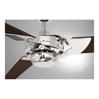 Savoy House 62-5085-3CN-109 Monfort 62 inch Polished Nickel with Chestnut Blades Ceiling Fan alternative photo thumbnail