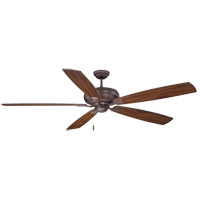 Wind Star 68 inch Espresso with Walnut Blades Ceiling Fan