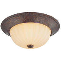 Savoy House Signature 2 Light Flush Mount in New Tortoise Shell 6P-13264-56