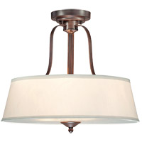 Savoy House 6P-2175-3-129 Maremma 3 Light 18 inch Espresso Semi-Flush Ceiling Light photo thumbnail