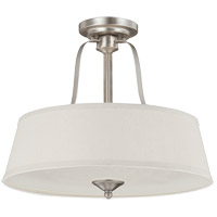 Savoy House Maremma 3 Light Semi Flush Mount in Pewter 6P-2175-3-69