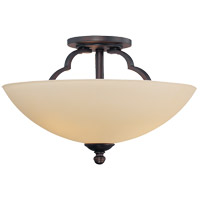 Savoy House Marcelina 3 Light Semi Flush Mount in English Bronze 6P-964-3-13