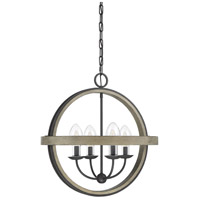 Westport 4 Light 22 inch Weathervane Garden Chandelier