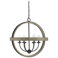 Westport 6 Light 30 inch Weathervane Garden Chandelier
