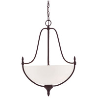 Herndon 3 Light 18 inch English Bronze Pendant Ceiling Light