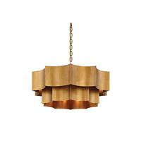 Savoy House 7-101-6-54 Shelby 6 Light 30 inch Gold Patina Pendant Ceiling Light alternative photo thumbnail