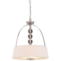 Savoy House Murren 3 Light Pendant in Polished Nickel 7-1037-3-109