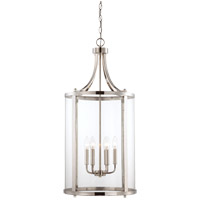 Savoy House Penrose 6 Light Foyer Lantern in Polished Nickel 7-1041-6-109