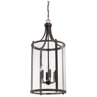 Savoy House 7-1041-6-13 Penrose 6 Light 16 inch English Bronze Foyer Lantern Ceiling Light, Medium alternative photo thumbnail