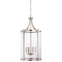 Savoy House 7-1041-6-SN Penrose 6 Light 16 inch Satin Nickel Foyer Lantern Ceiling Light, Medium photo thumbnail