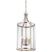 Savoy House 7-1041-6-SN Penrose 6 Light 16 inch Satin Nickel Foyer Lantern Ceiling Light, Medium alternative photo thumbnail