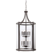 Savoy House 7-1042-12-13 Penrose 12 Light 20 inch English Bronze Foyer Lantern Ceiling Light, Large