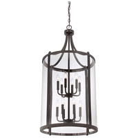 Savoy House 7-1042-12-13 Penrose 12 Light 20 inch English Bronze Foyer Lantern Ceiling Light, Large alternative photo thumbnail