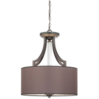 Savoy House Moderne Royal 4 Light Pendant in Distressed Bronze 7-1075-4-59