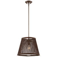 Savoy House 7-1140-1-71 Messina 1 Light 16 inch Architectural Bronze Outdoor Pendant