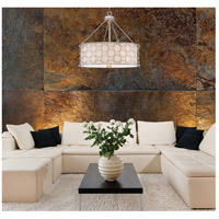 Savoy House 7-1160-4-34 Triona 4 Light 24 inch Silver Leaf Pendant Ceiling Light alternative photo thumbnail
