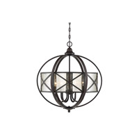Holland 6 Light 24 inch English Bronze Pendant Ceiling Light