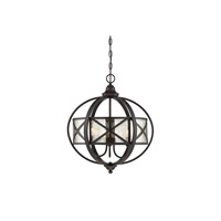 Holland 3 Light 19 inch English Bronze Pendant Ceiling Light