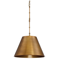 Savoy House Alden 1 Light Pendant in Warm Brass 7-131-1-322