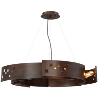 Odessa 5 Light 24 inch Bronze Ore Pendant Ceiling Light