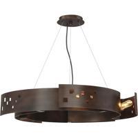 Savoy House 7-160-5-61 Odessa 5 Light 24 inch Bronze Ore Pendant Ceiling Light