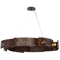 Odessa 8 Light 35 inch Bronze Ore Pendant Ceiling Light