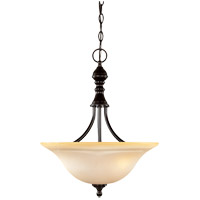 Savoy House 7-1708-3-13 Sutton Place 3 Light 16 inch English Bronze Pendant Ceiling Light photo thumbnail