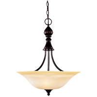 Savoy House Sutton Place 3 Light Pendant in English Bronze 7-1709-3-13