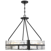 Savoy House 7-1850-8-89 Hudson 8 Light 28 inch Matte Black Pendant Ceiling Light
