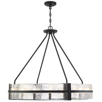 Savoy House 7-1851-12-89 Hudson 12 Light 36 inch Matte Black Pendant Ceiling Light