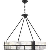Savoy House 7-1851-12-89 Hudson 12 Light 36 inch Matte Black Pendant Ceiling Light