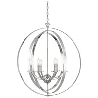 Savoy House 7-204-6-109 Dumont 6 Light 30 inch Polished Nickel Pendant Ceiling Light