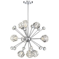Savoy House 7-2144-9-11 Urbain 9 Light 24 inch Polished Chrome Pendant Ceiling Light