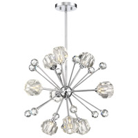 Savoy House 7-2144-9-11 Urbain 9 Light 24 inch Polished Chrome Pendant Ceiling Light alternative photo thumbnail