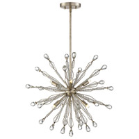 Savoy House 7-2146-6-176 Alcott 6 Light 21 inch Silver Lace Pendant Ceiling Light