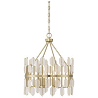 Savoy House 7-2160-4-127 Royale 4 Light 18 inch Noble Brass Pendant Ceiling Light