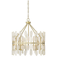 Savoy House 7-2161-5-127 Royale 5 Light 22 inch Noble Brass Pendant Ceiling Light